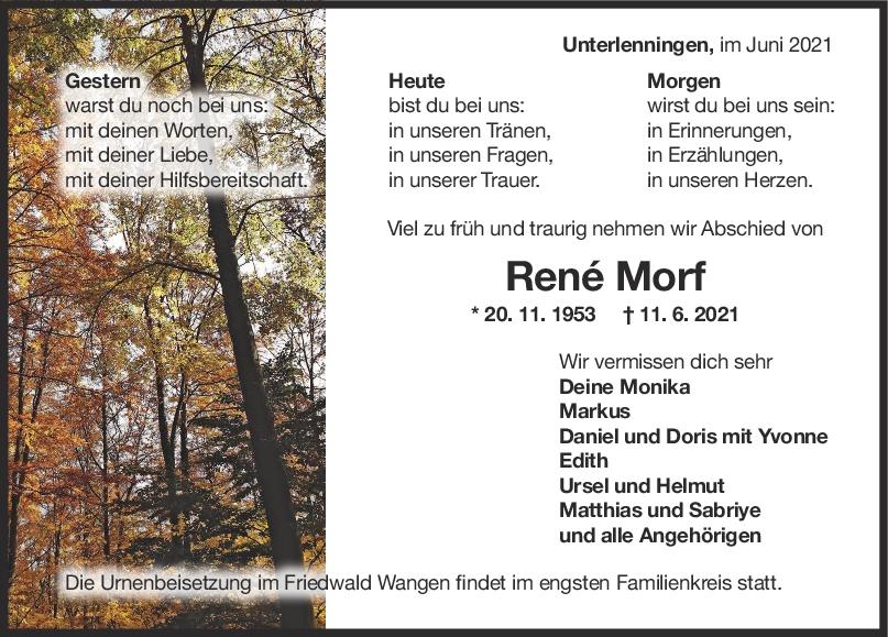 Trauer René Morf <br><p style=