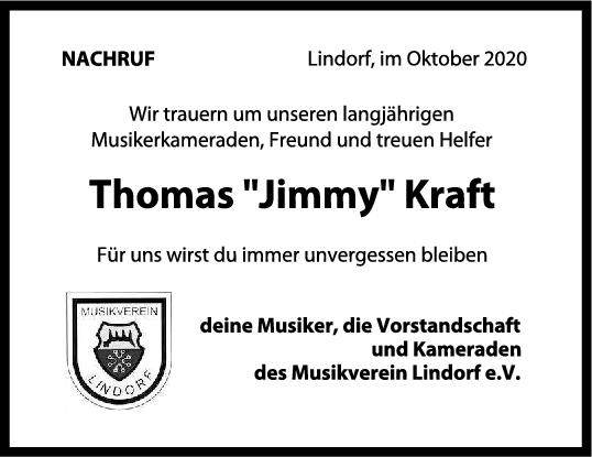 Nachruf Thomas