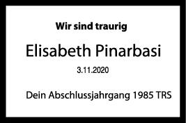 Nachruf Elisabeth Pinarbasi <br><p style=