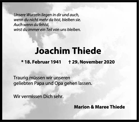 Trauer Joachim Thiede <br><p style=