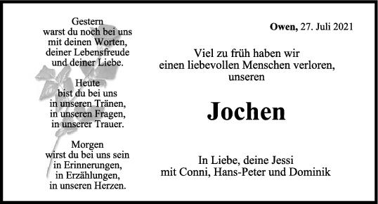Trauer Jochen Sommerluksch<br><p style=