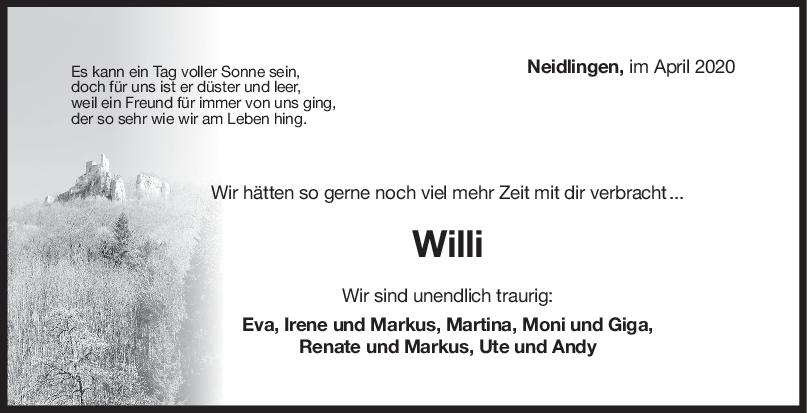 Nachruf Wilfried Traxler <br><p style=