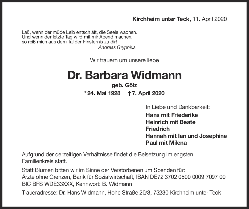 "Dr. Barbara Widmann <br><p style=""font-size: 10px; text-align: center;"">11/04/2020</p>"