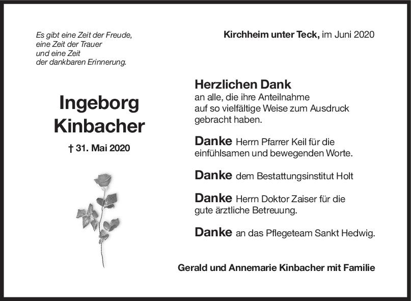 "Danksagung Ingeborg Kinbacher <br><p style=""font-size: 10px; text-align: center;"">20/06/2020</p>"