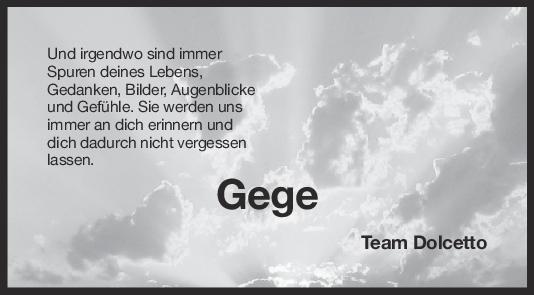 Nachruf Gerd Reinhardt <br><p style=