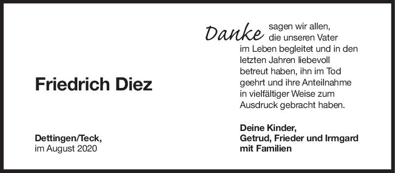 Danksaung Friedrich Diez <br><p style=
