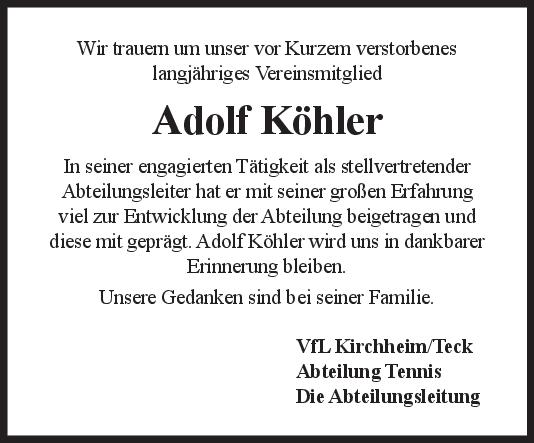 Nachruf Köhler <br><p style=