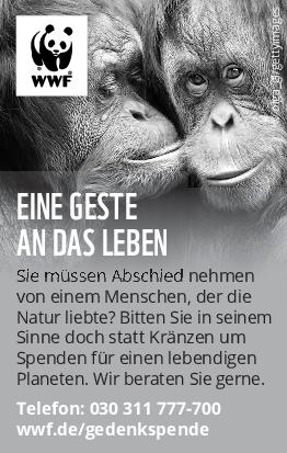 WWF Deutschland; WWF Deutschland <br><p style=
