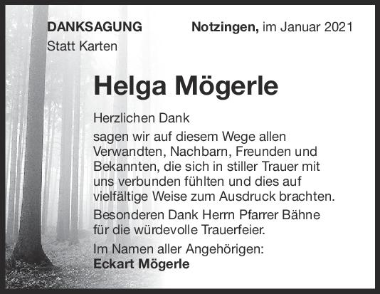 Danksagung Mögerle <br><p style=