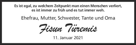 Trauer Fisun Türemis <br><p style=