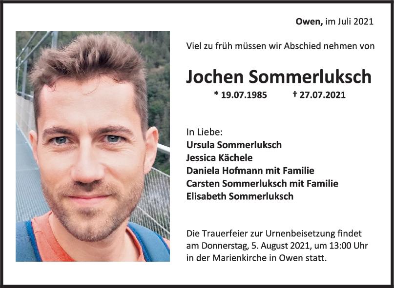 Trauer Jochen Sommerluksch <br><p style=