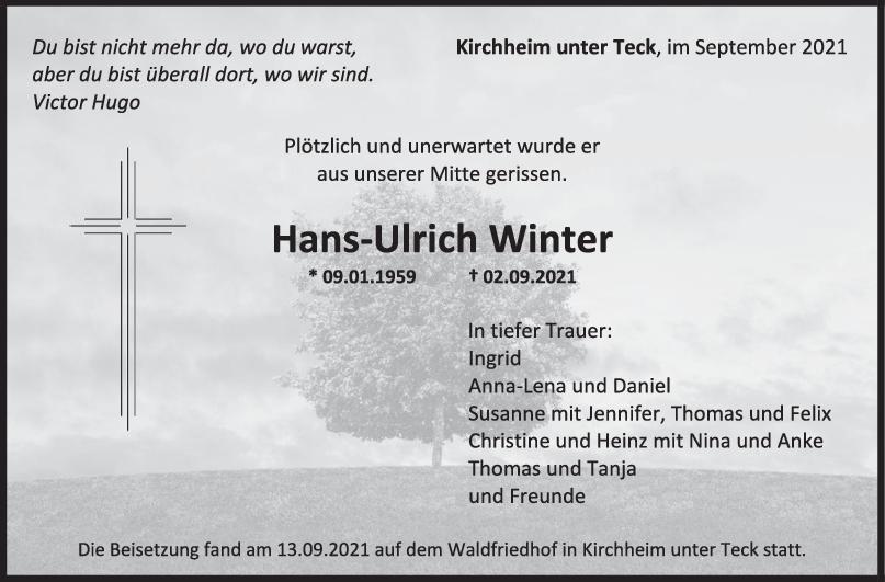 Traue rHans-Ulrich Winter <br><p style=