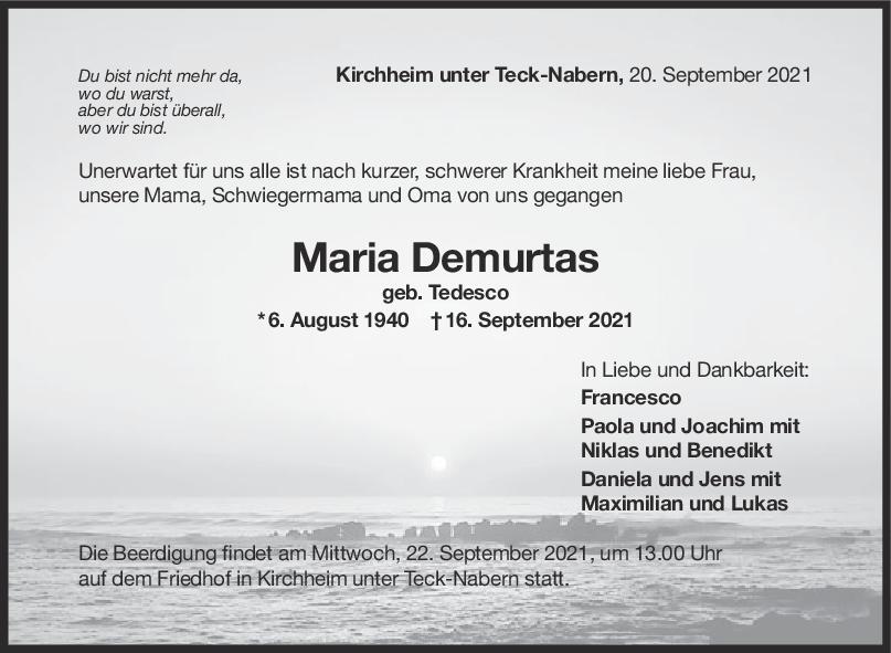Tauer Maria Demurtas <br><p style=